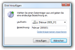 The Add Disk dialog.