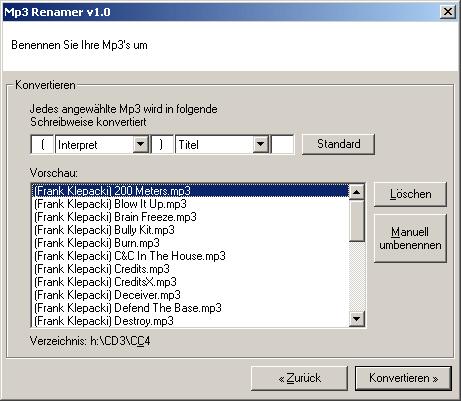 Teamwork Software - mp3 Index Maker - Overview